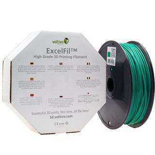 Voltivo ExcelFil 3D Druck Filament, ABS, 1,75mm - grün