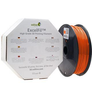 Voltivo ExcelFil 3D Druck Filament, ABS, 1,75mm - orange