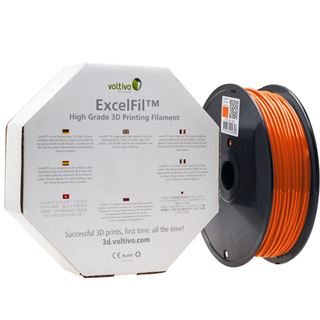 Voltivo ExcelFil 3D Druck Filament, ABS, 3mm - orange