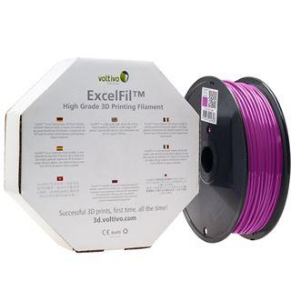 Voltivo ExcelFil 3D Druck Filament, PLA, 1,75mm - violett