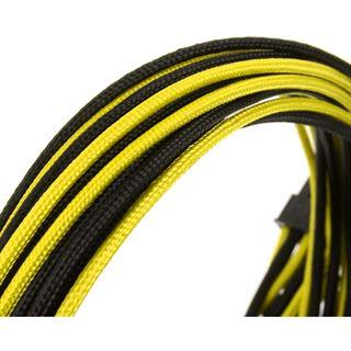 CableMod C-Series AXi, HXi, TX/CX/CS-M & RM Cable Kit - schwarz/gelb