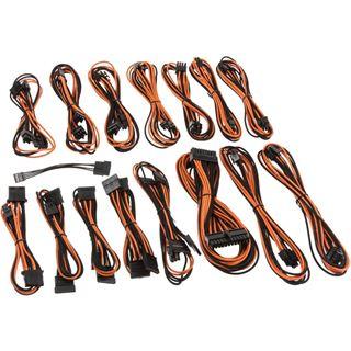 CableMod E-Series G2 & P2 Cable Kit - schwarz/orange