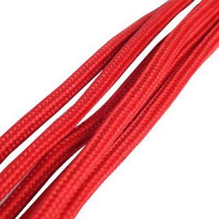 Silverstone 6-Pin-PCIe auf 6-Pin-PCIe Verlängerung - 250mm rot