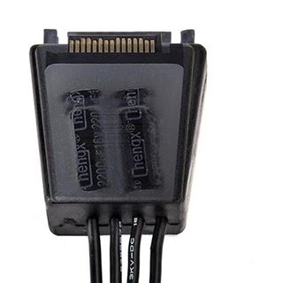 Silverstone SATA Power Adapter Cable with Capacitor