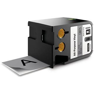 Dymo XTL Vinyl 54mm schwarz auf grau