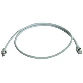 (€13,80*/1m) 0.50m Telegärtner Cat. 6a Patchkabel S/FTP PiMF RJ45 Stecker auf RJ45 Stecker Gelb halogenfrei