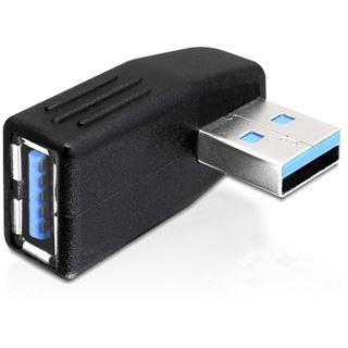 Delock USB3.0 Adapter A zu A St/Bu 270ø gew. horizontal