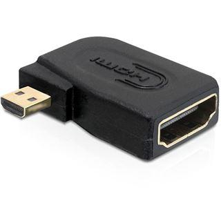 HDMI Delock Adapter A -> micro D Bu/St 90ø rechts