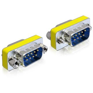 Delock Adapter D-Sub9 -> D-Sub9 St/St