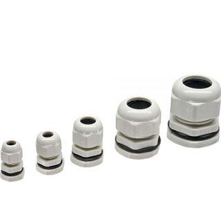 InLine Kabeldurchführung PG 29 Nylon IP68 18-25mm, grau, 10 Stück