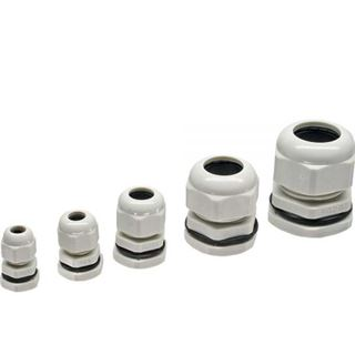 InLine Kabeldurchführung PG 25 Nylon IP68 16-21mm, grau, 10 Stück