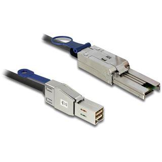 (€33,45*/1m) 2.00m Delock SAS 6Gb/s Anschlusskabel SFF-8644 Stecker auf SFF-8088 Stecker Schwarz