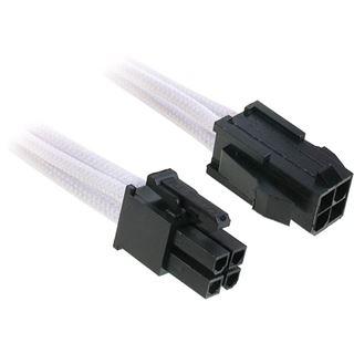 BitFenix 4-Pin ATX12V Verlängerung 45cm sleeved weiß/schwarz