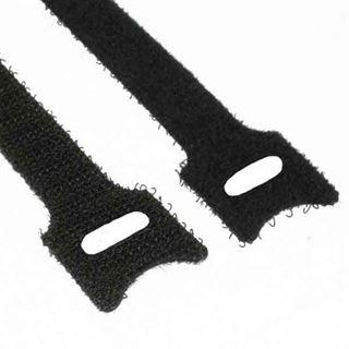 InLine 59943L Kabelbinder L150mm x B12mm Klett-Verschluss 10er schwarz