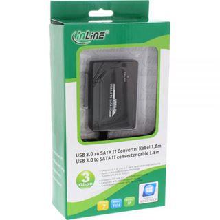 InLine USB 3.0 zu SATA II Konverter Kabel mit Netzteil