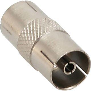 InLine Antenne Koaxial Verbinder Stecker / Buchse Metall
