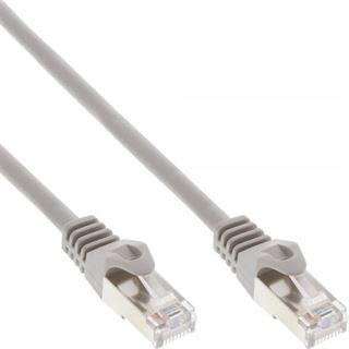 (€0,27*/1m) 40.00m InLine Cat. 5e Patchkabel SF/UTP RJ45 Stecker auf RJ45 Stecker Grau