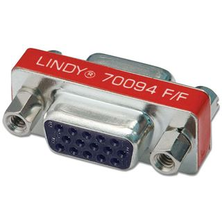 Lindy Mini-Adapter an 15 Pol HD-Kupplung
