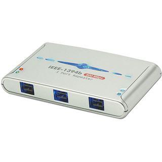 Lindy FireWire Hub 3 Port IEEE1394b FireWire