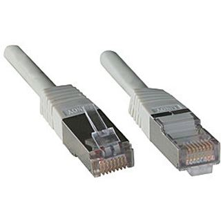 (€1,95*/1m) 2.00m Lindy Cat. 5e Patchkabel FTP RJ45 Stecker auf RJ45 Stecker Grau
