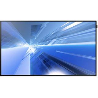 "55"" (139,70cm) Samsung Smart Signage DM55E schwarz 1920x1080 1xDisplayPort / 1xDVI / 1xComposite / 1xHDMI / 1xKomponenten (YUV) / 1xVGA"