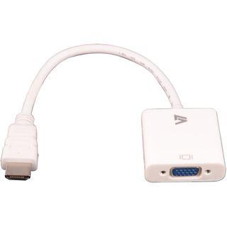 V7 HDMI auf VGA weiß
