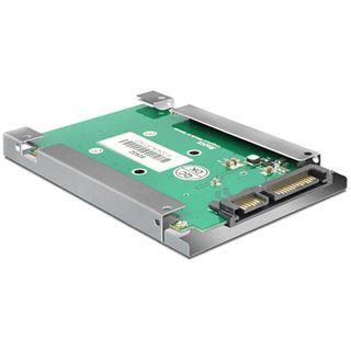 Delock Konverter SATA 22 Pin zu mSATA mit 2.5