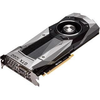 8GB PNY GeForce GTX 1080 Founders Edition Aktiv PCIe 3.0 x16 (Retail)