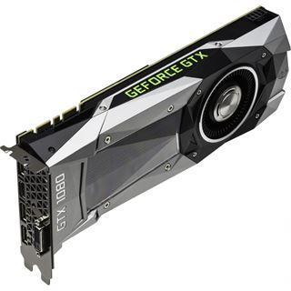 8GB Palit GeForce GTX 1080 Founders Edition Aktiv PCIe 3.0 x16 (Retail)