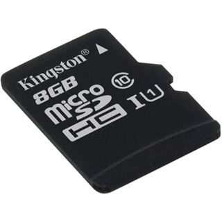 8 GB Kingston SDC10G2 microSDXC Class 10 Retail