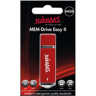 64 GB takeMS Easy II rot USB 2.0