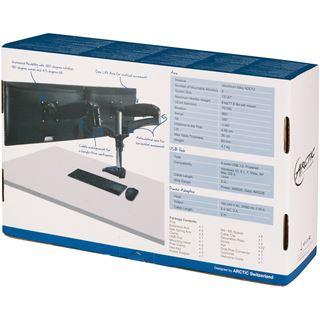 Arctic Monitorhalterung Z2-3D 2xMonitorarm + 4 x USB 3.0