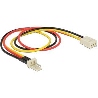 DeLOCK Kabel Power Molex 3 Pin Verlängerung St / Bu 30 cm
