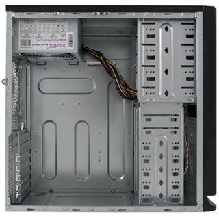 LC-Power 7010B Midi Tower ohne Netzteil schwarz