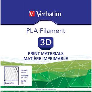 VERBATIM Filament PLA 2,85mm weiss