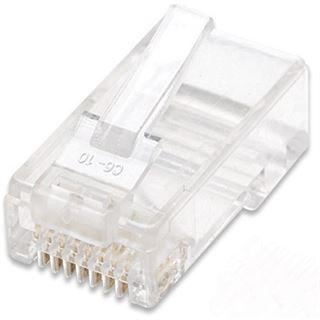Intellinet RJ45 Modularstecker Cat5e UTP 100er Pack 502399