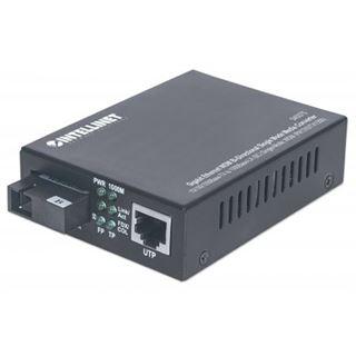 Intellinet Medienkonverter Gigabit Singlemode 20km RX 1310
