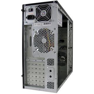 LC-Power 649B Midi Tower ohne Netzteil schwarz
