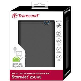 "Transcend TS0GSJ25CK3 2.5"" (6,35cm) USB 3.0 schwarz"