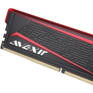 8GB Avexir Impact ROG rote LED DDR4-2666 DIMM CL15 Dual Kit