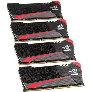 16GB Avexir Tesla ROG rote LED DDR4-2666 DIMM CL15 Dual Kit