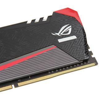 16GB Avexir Tesla ROG rote LED DDR4-2666 DIMM CL15 Dual Kit