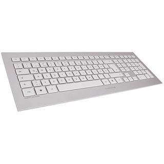 CHERRY DW 8000 Franzoesisch USB weiß/silber