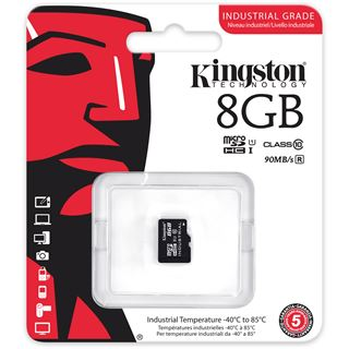 8 GB Kingston Industrial Temperature microSD UHS-I Retail