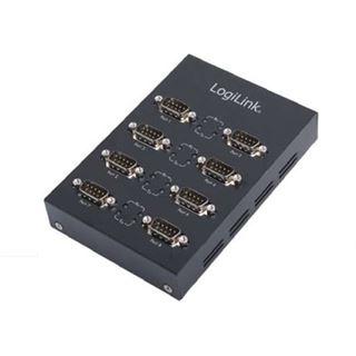 LogiLink Adapter USB 2.0 -> 8x Seriell