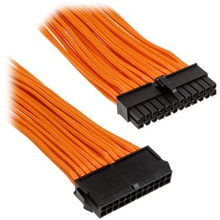 PHANTEKS 24-Pin ATX Verlängerung 50cm - sleeved orange