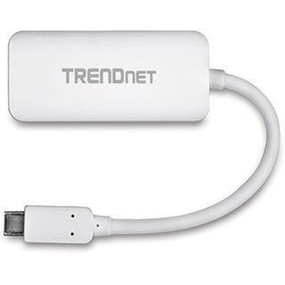 TrendNet Adapter USB-C zu VGA HDTV USB TYP-C zu VGA Verbindung