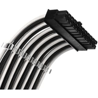 Phanteks Verlängerungskabel-Set, 500mm schwarz/weiß