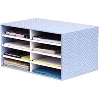 Fellowes BANKERS BOX STYLE Schreibtisch-Manager, blau/weiß