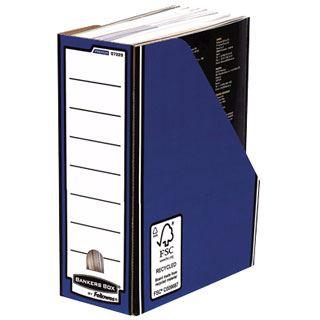 Fellowes BANKERS BOX PREMIUM Archiv-Stehsammler, blau